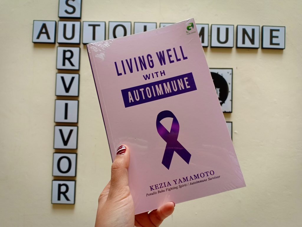 buku living well with autoimmune by kezia yamamoto